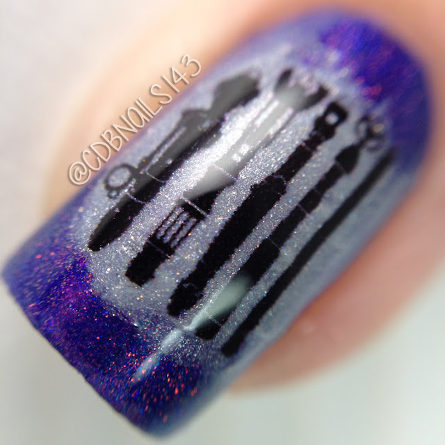 Sweet World of Nails-Doctor Who