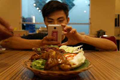Ero siap menjadi food blogger di Pontianak