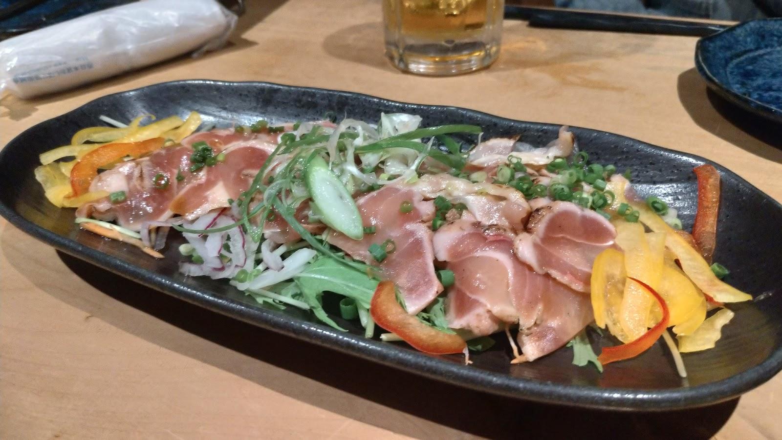 長崎駅前の美味しいおすすめ居酒屋をご案内します!魚河岸がれーじ駅前店 たたき