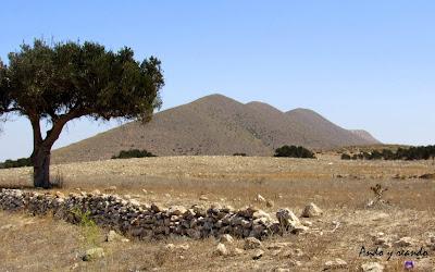 Paisajes volcánicos de Cabo de Gata