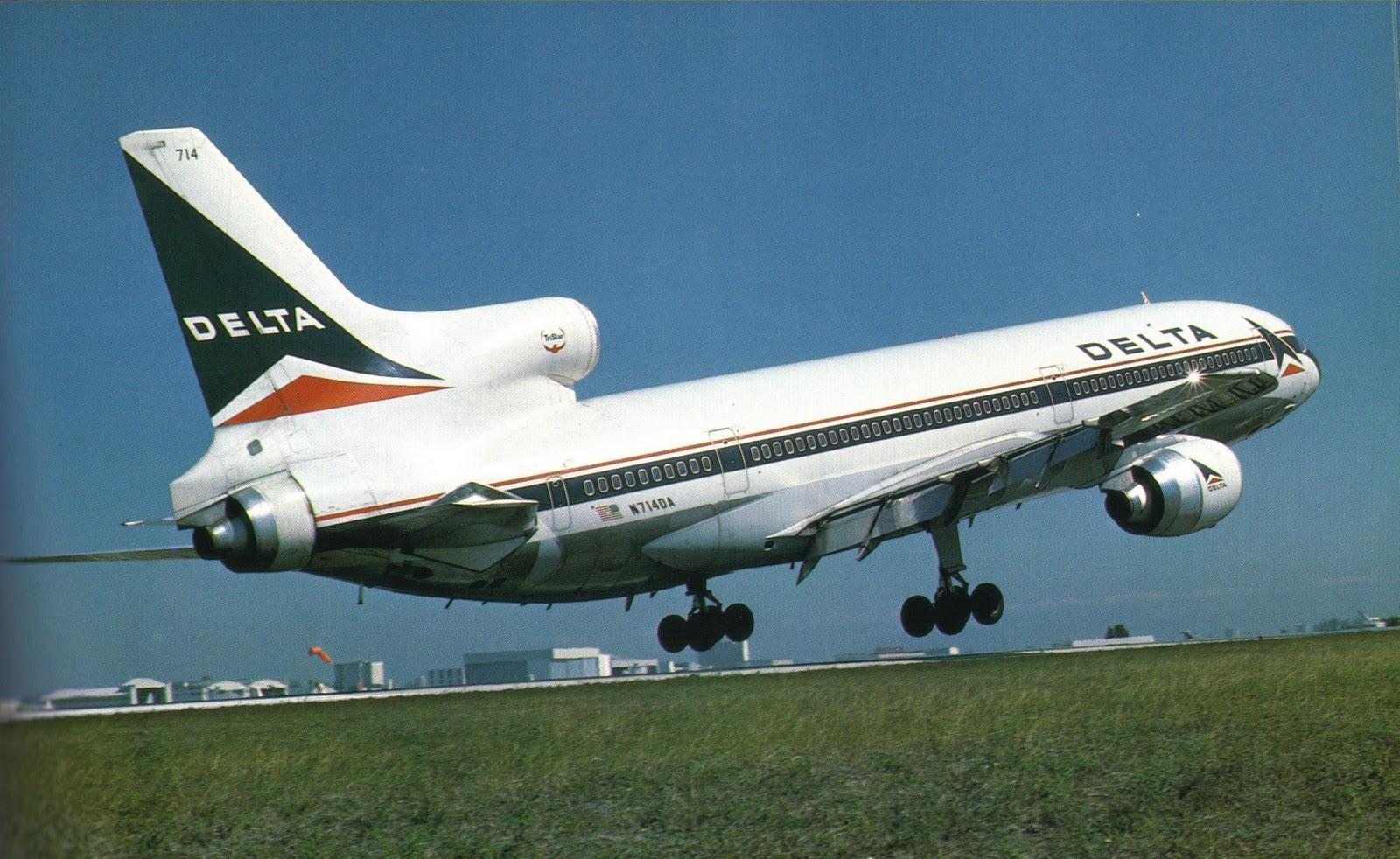 Airlines Past Amp Present Delta Airlines Vintage Fleet