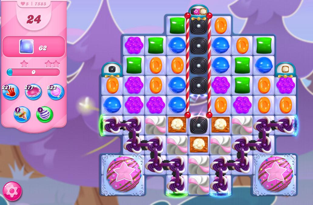 Candy Crush Saga level 7585