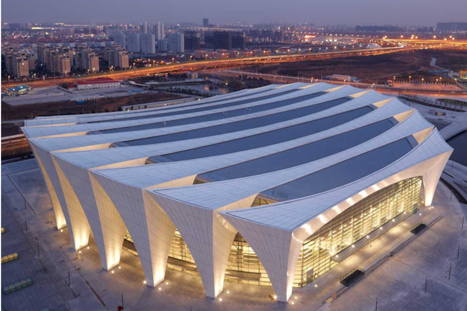 Shanghai Oriental Sports Center By Gmp Architekten