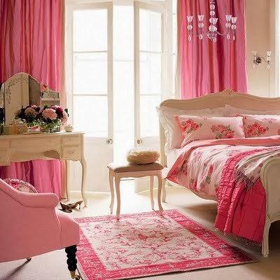 Dormitorio principal color rosa dormitorios colores y for Dormitorio rosa
