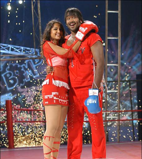 Anushka Shetty thunder thighs photos