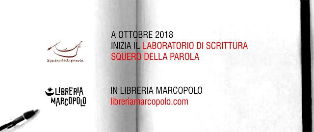 Corsi scrittura alla MarcoPolo - ottobre 2018