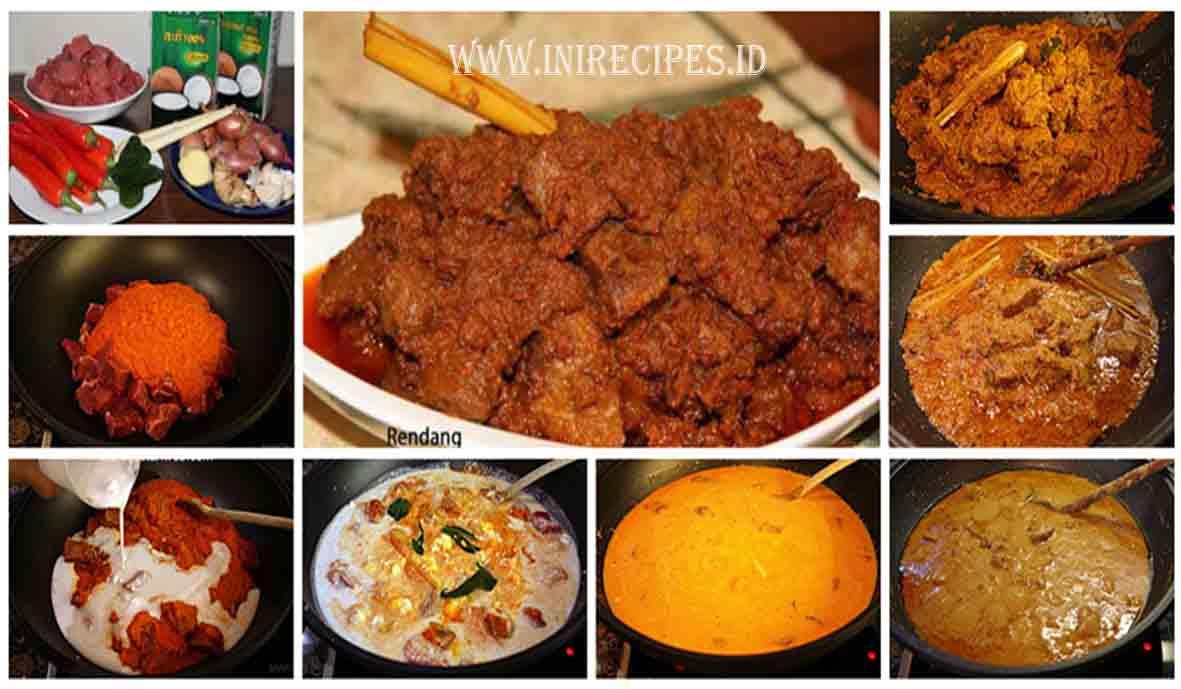 Resep Rendang Daging Khas Padang Yang Empuk dan Lezaaat