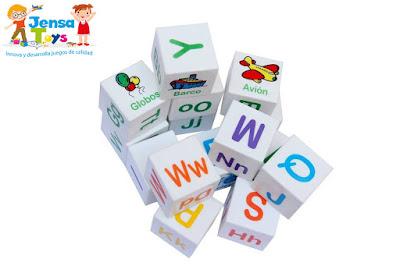 Abecedario Cubos Logo