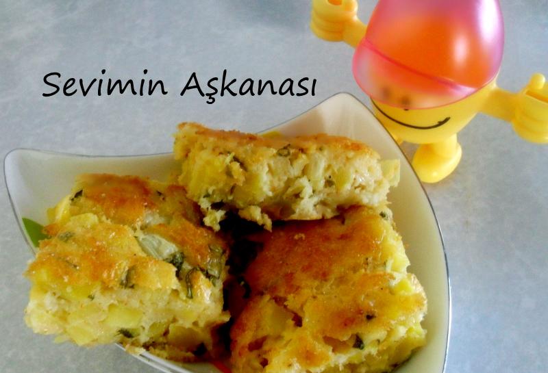Patatesli Semiz Otlu Kek (Börek) Kahvaltılık