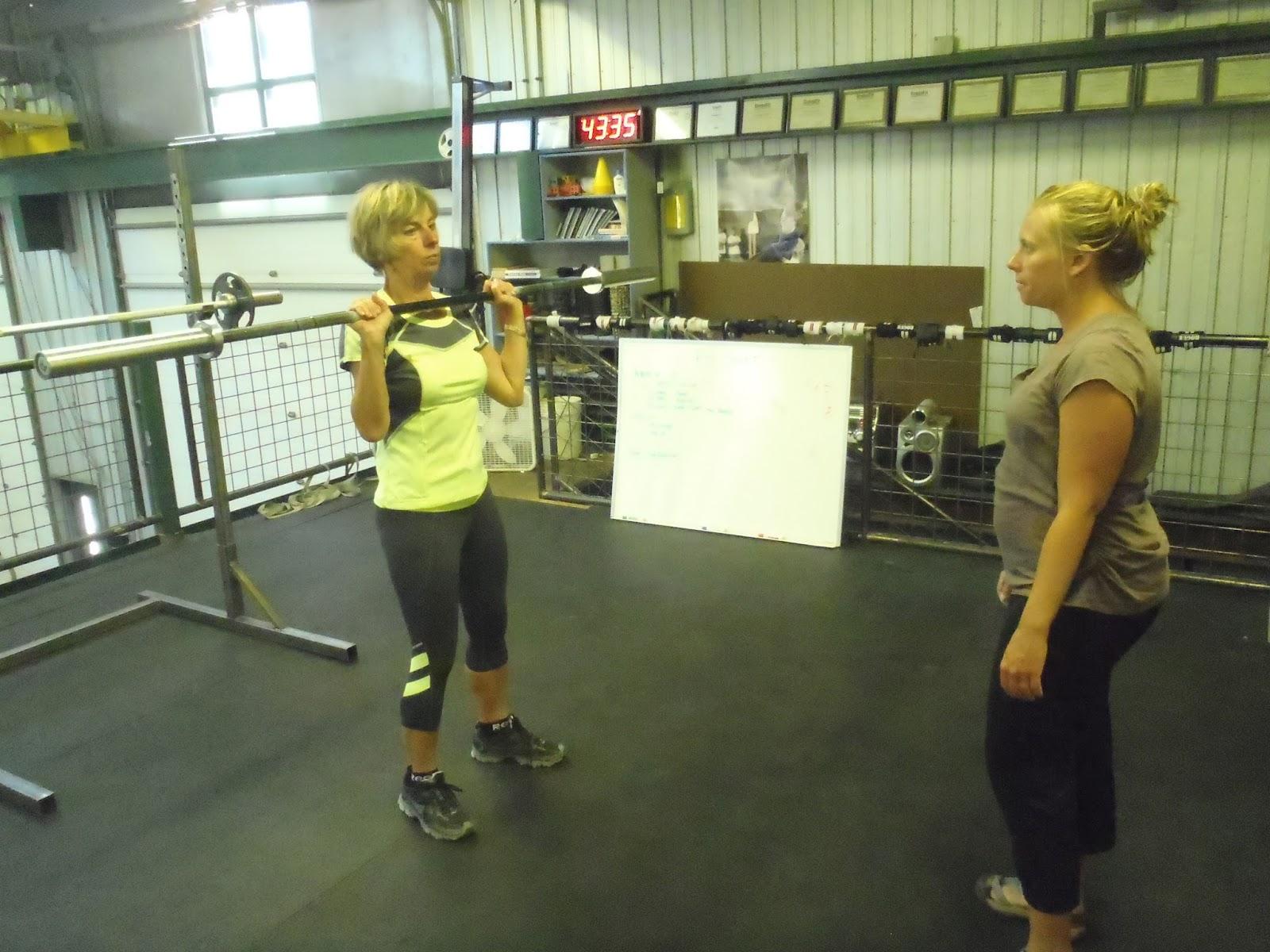 Telluride CrossFit: 3 Rep Shoulder Press