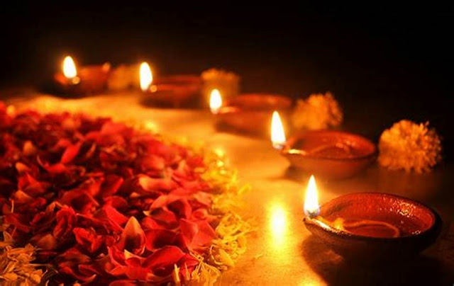 scientific reason behind lighting deepam