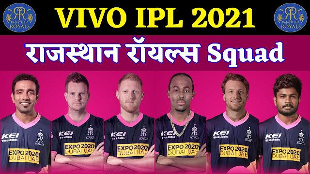 VIVO IPL 2020: RAJASTHAN ROYALS