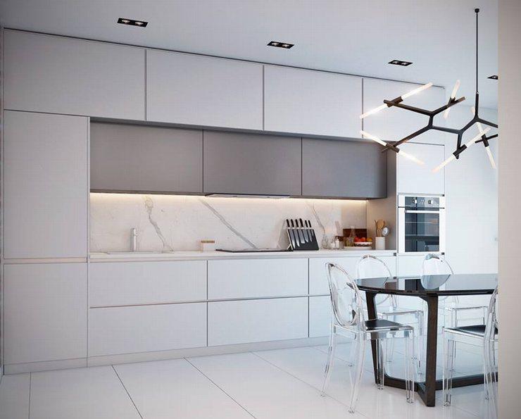 thiết kế thi công nội thất nhà bếp độc đáo 25