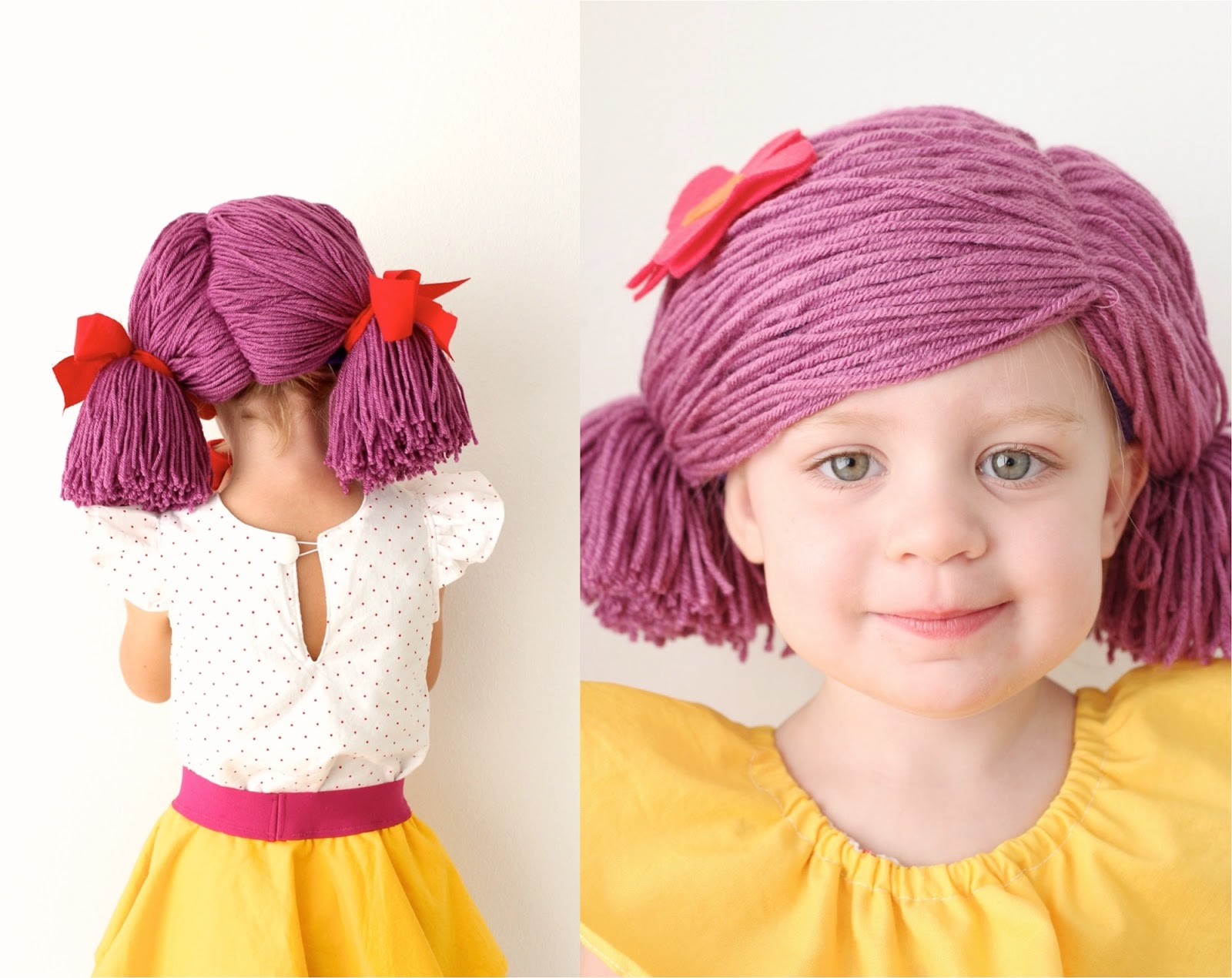 Yarn Wigs Made Everyday