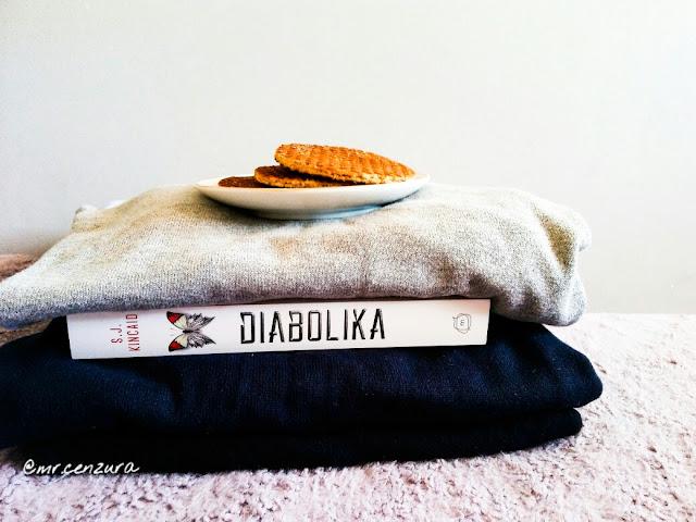 """#19 ,,Diabolika"""" S.J. Kincaid"""