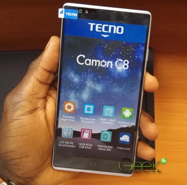 How to hard reset Tecno Camon C8 » ChuksGuide