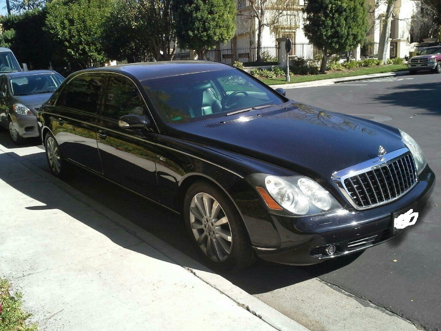Charlie Sheens Armored Maybach 62S For Sale On eBay