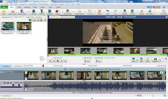 nch suite video editor