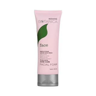 Mineral Botanica Acne Care Facial Foam