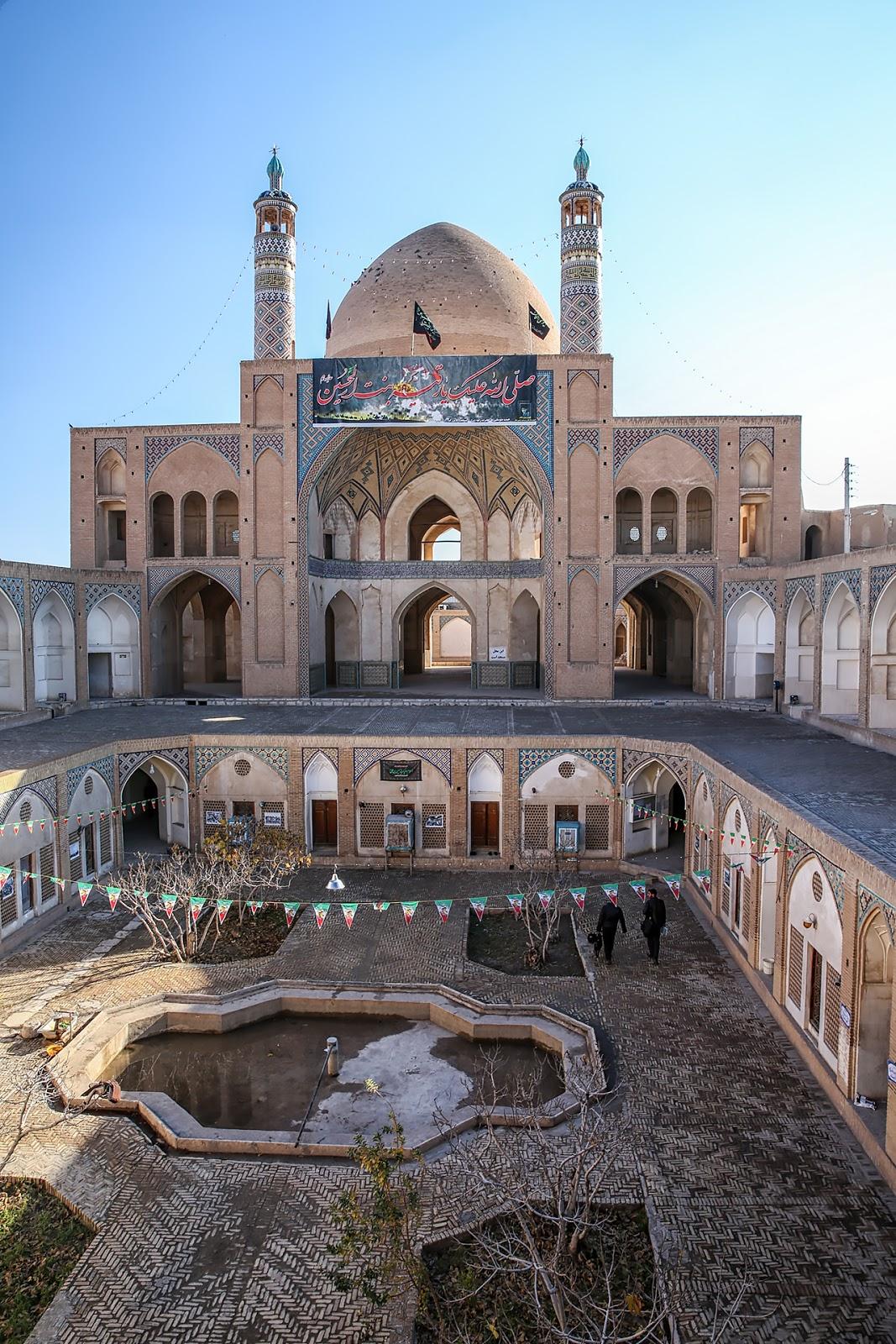 meczet Agha Bozorg,Kaszan,Iran