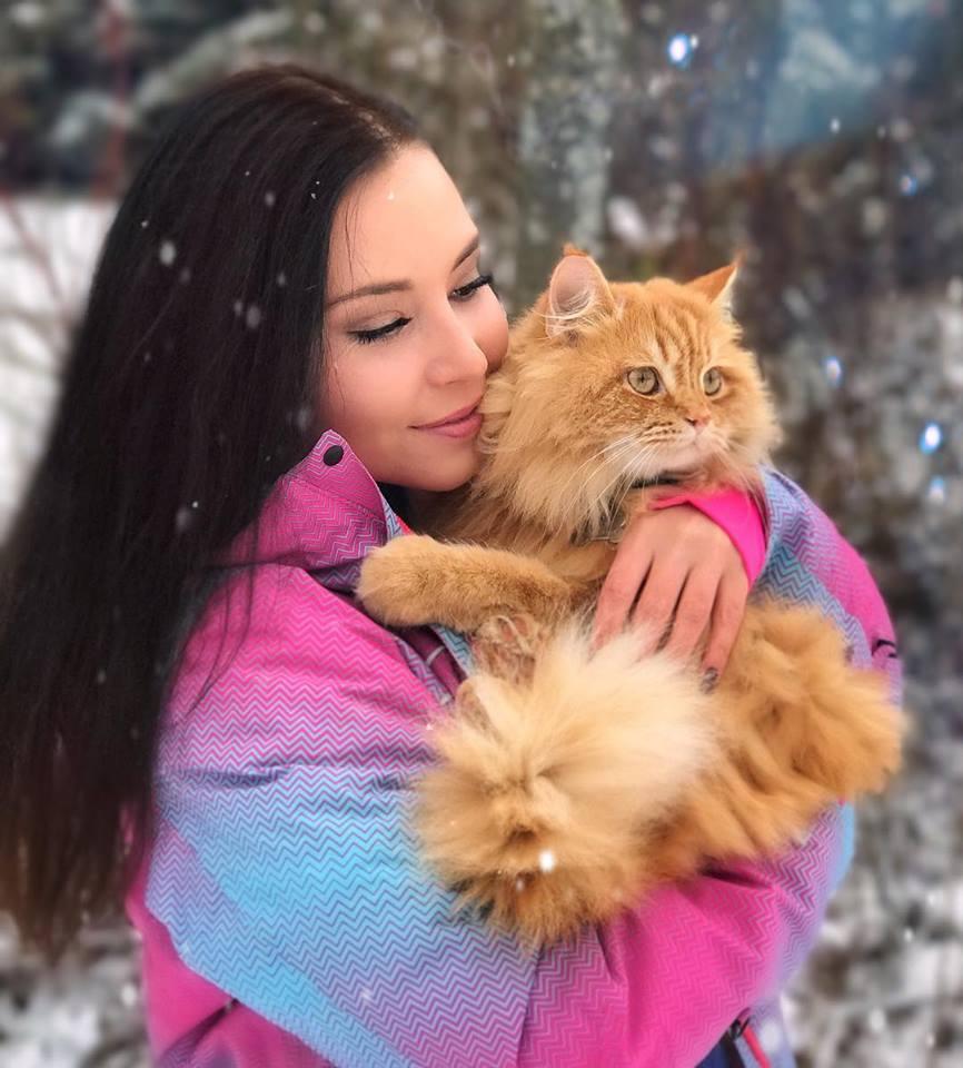 Kucing dan wanita hamil