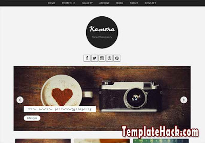 kamera blogger template