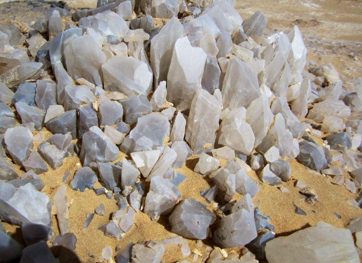 The Crystal Mountain in Egypt (Photos)