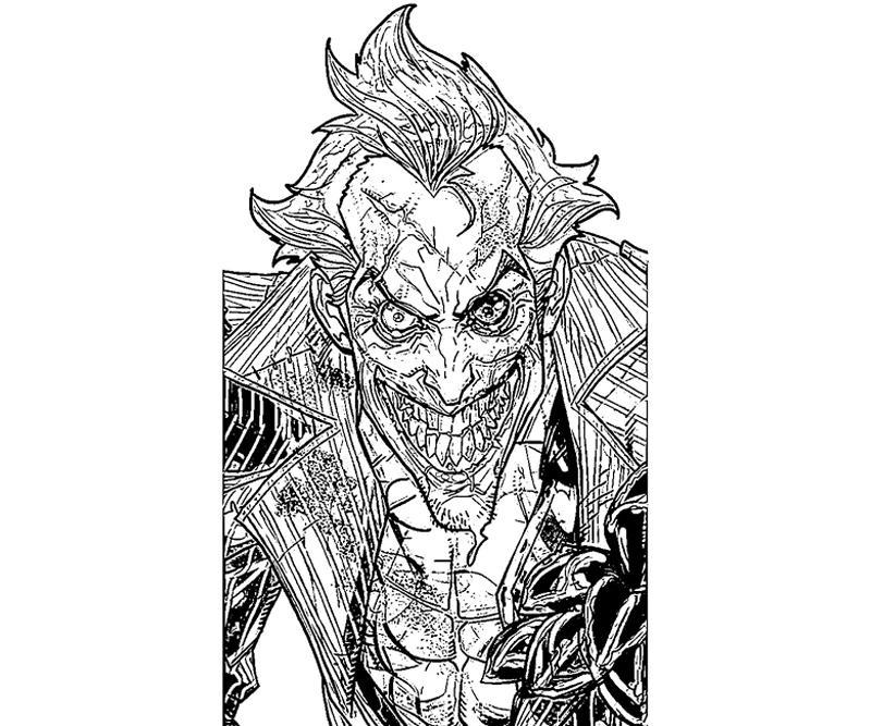 Batman Arkham City Joker Card Yumiko Fujiwara
