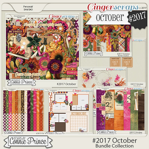 Guest Creative Team (September), Annemarie, for Connie Prince ?#2017 October and #2017 October MiniKit challenge with Free Mini Kit