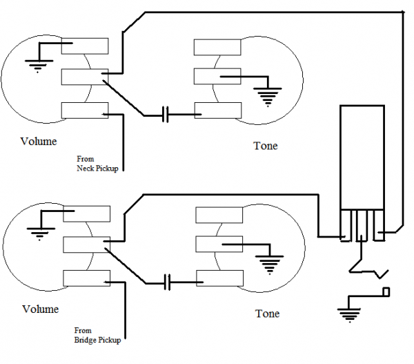 Gfs Dream 180 Wiring Diagram Ge Electric Motors Diagrams Guitar Kit Builder: Les Paul Florentine: Vintage 50s Harness