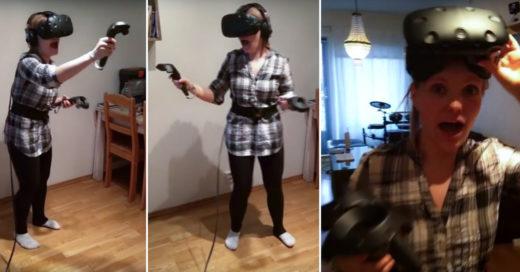 Sufre un ataque mientras mataba zombies en Realidad Virtual