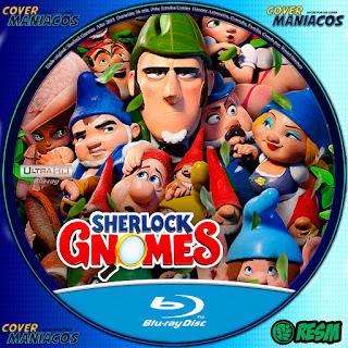 GALLETA- GNOMEO Y JULIETA: SHERLOCK GNOMES -Gnomeo & Juliet: Sherlock Gnomes - 2018