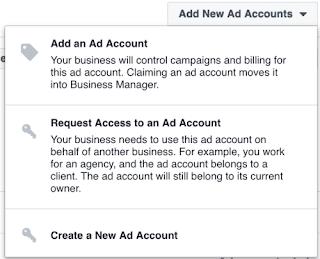 Membuat Ad Account