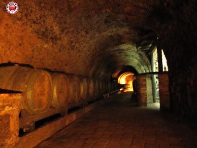 Túneles de las bodegas El Fabulista