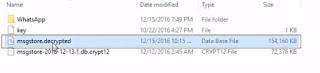 Decrypt-database