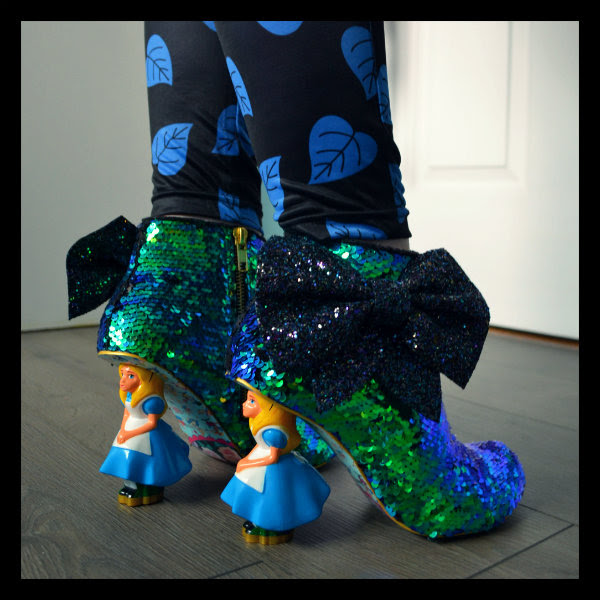 wearing irregular choice who in the world am i? alice ankle boot