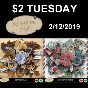 2$ TUESDAY at My Memories