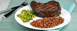 pork chops with coffee rub, coffee spice blend, coffee rubbed chops