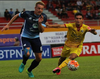 gambar Zalnando (bek kiri) Sriwijaya FC