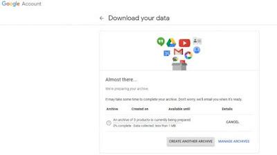 طريقة تحميل بياناتك من جوجل بلس