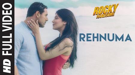 Rehnuma ROCKY HANDSOME John Abraham New HD Songs 2016 Shruti Haasan