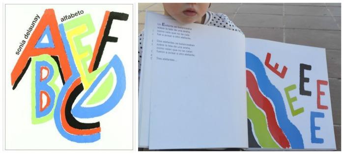 libro infantil abecedario con canciones