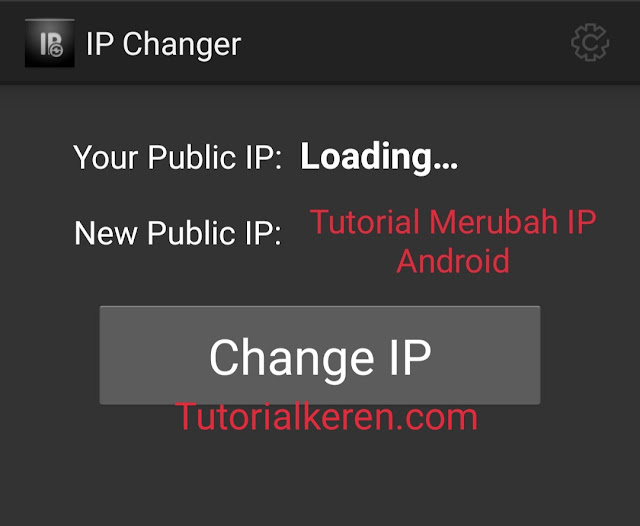 Tutorial Merubah IP Android