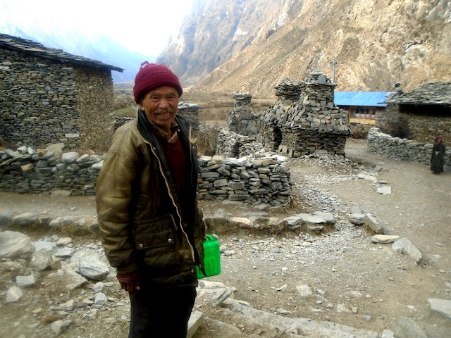 Manaslu local People