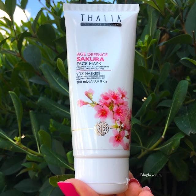 Thalia Sakura Özlü Yaşlanma Karşıtı Yüz Maskesi