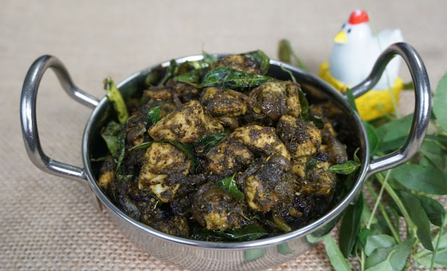 Curry Leaf Pepper Chicken | Steffi's Recipes