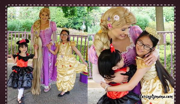DIY Hong Kong Tour Itinerary - Hong Kong family tour - visit Hong Kong - Hong Kong Disneyland - Rapunzel