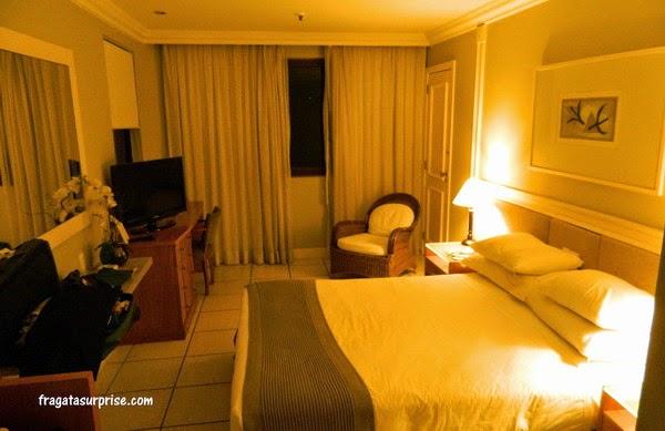 Apartamento do Hotel Golden Tulip Ipanema Plaza, Rio de Janeiro