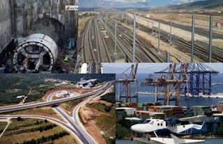 Τα 30 κορυφαία έργα υποδομής που κατασκευάζονται στη χώρα