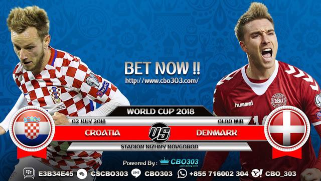 Prediksi Bola Piala Dunia 2018 Croatia VS Denmark 2 July 2018